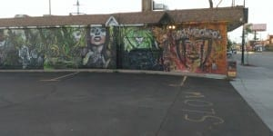 Bushwackers Saloon Mural