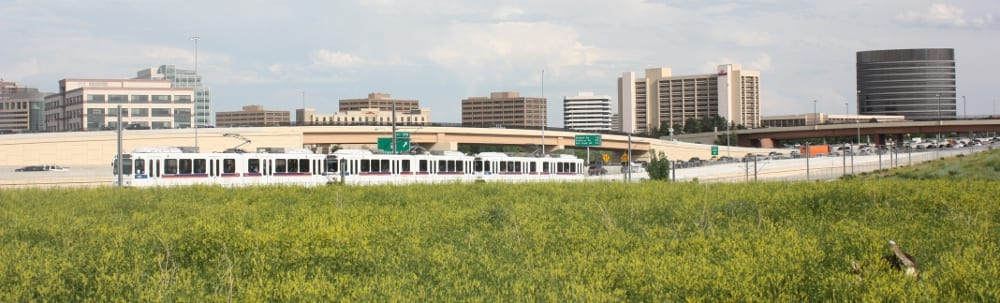 Denver Tech Center Skyline Train