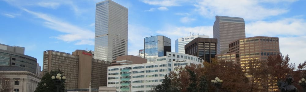 Downtown Denver Central Business District