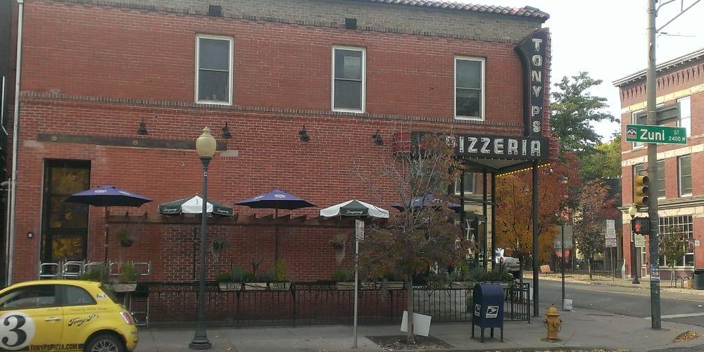 Tony P's Pizzeria Denver