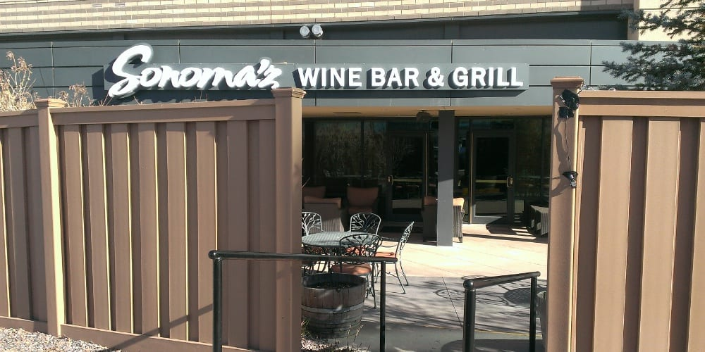 Sonoma'z Wine Bar Lone Tree