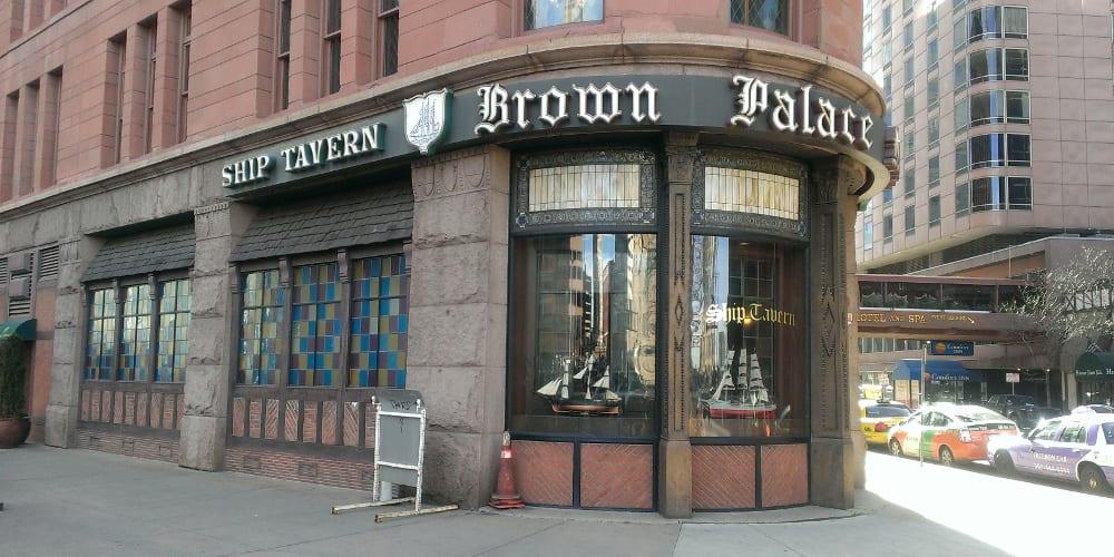 Image result for ships tavern brown palace denver