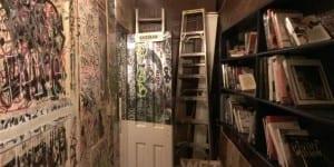 Carioca Cafe Bookshelf