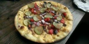 Lowdown Brewery Pizza