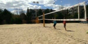 Gibby's Big Backyard Volleyball