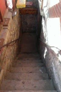 Meadowlark Bar Stairs
