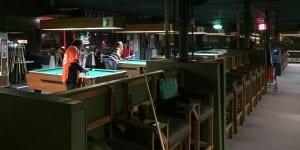 Hank's Billiards Quarter Pool Tables