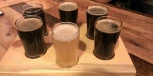 Odyssey Brewery Beer Flight