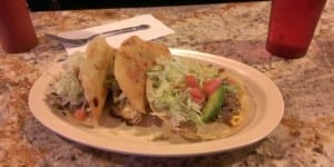 Mexico City Lounge Steak Tacos