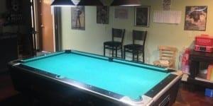 Miss Jiff Tavern Pool Table