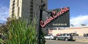Cuba Cuba Cafe Sign