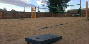 Hopper's Sports Grill Sand Volleyball