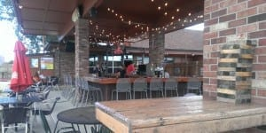 Hopper's Sports Grill Backyard Bar