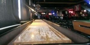 Hopper's Sports Grill Shuffleboard