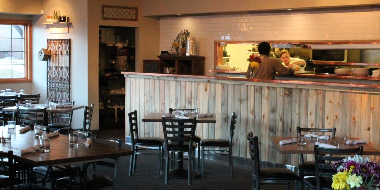 Blackbird Restaurant Open Kitchen