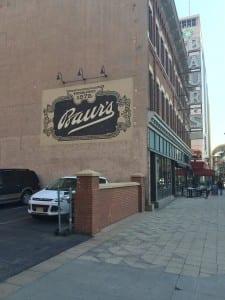 Baur's Restaurant Denver Mural