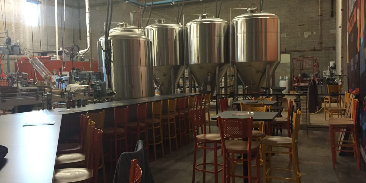 Denver Beer Co Canworks Brew Kettles