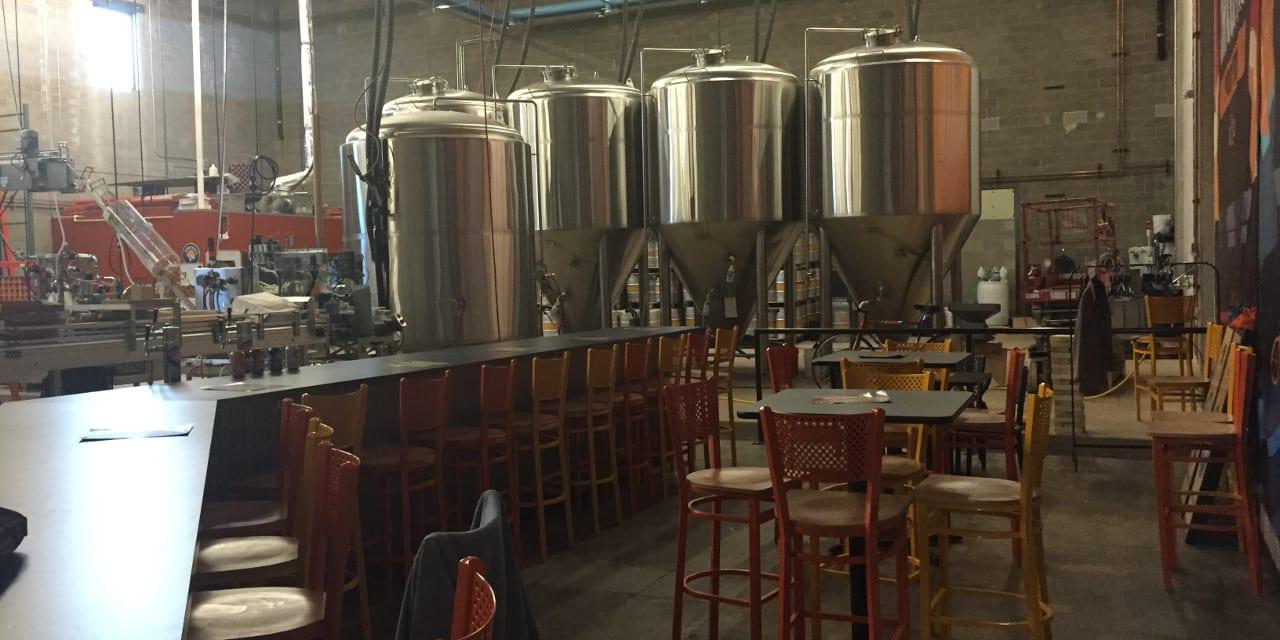 Denver Beer Co Canworks Brew Kettles