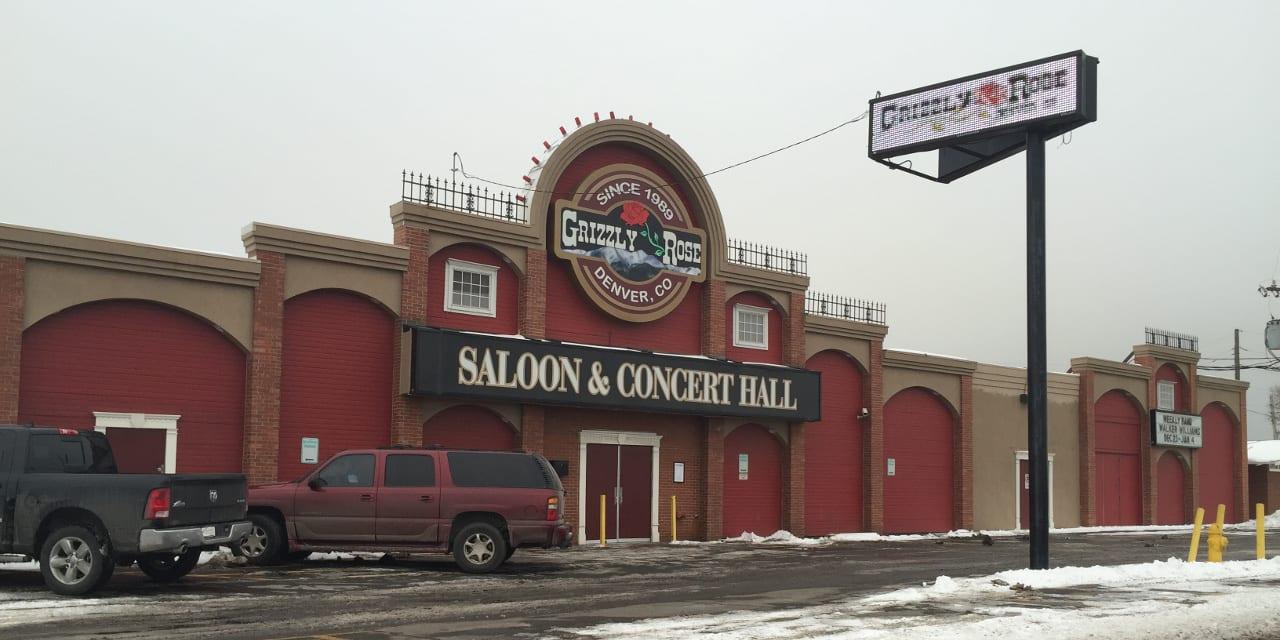 Grizzly Rose Saloon Concert Hall Denver