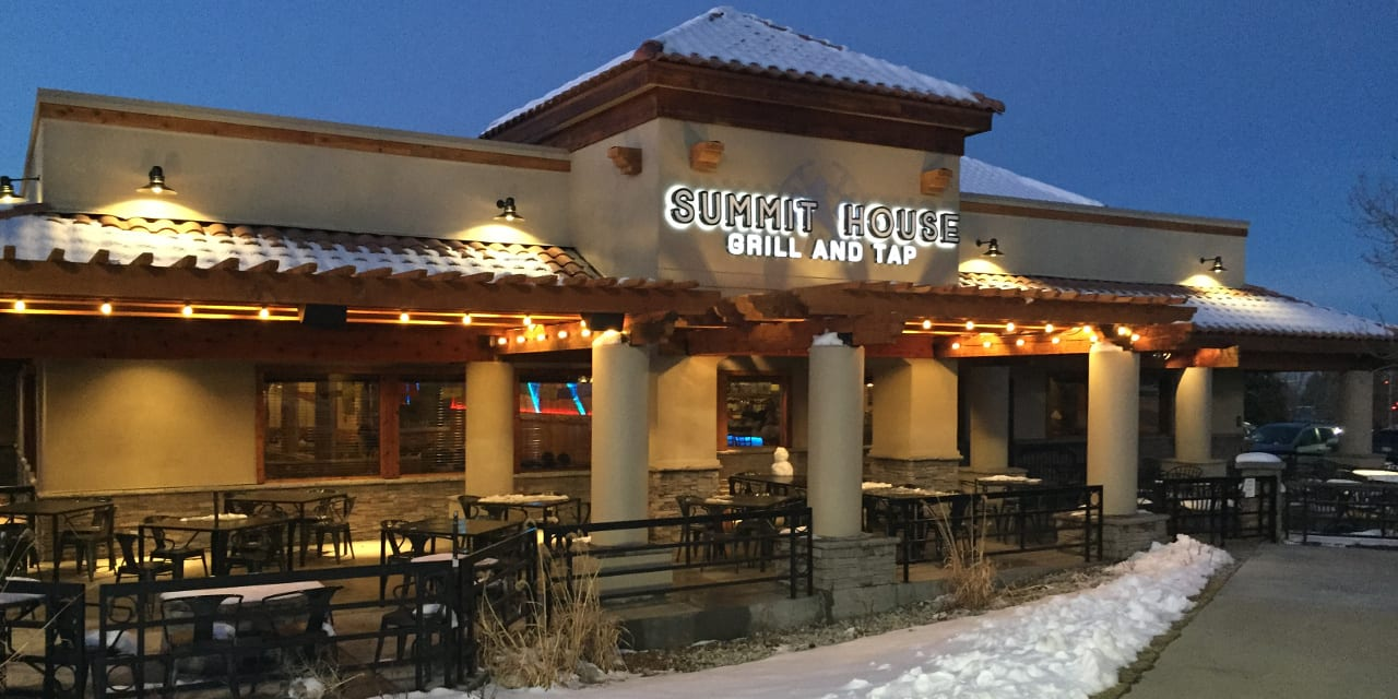 Summit House Grill Tap Specials Lakewood Co Happy Hours