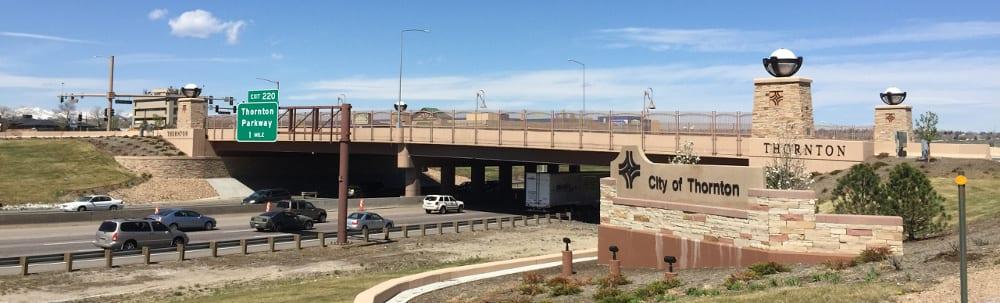 Thornton Colorado Highway 25