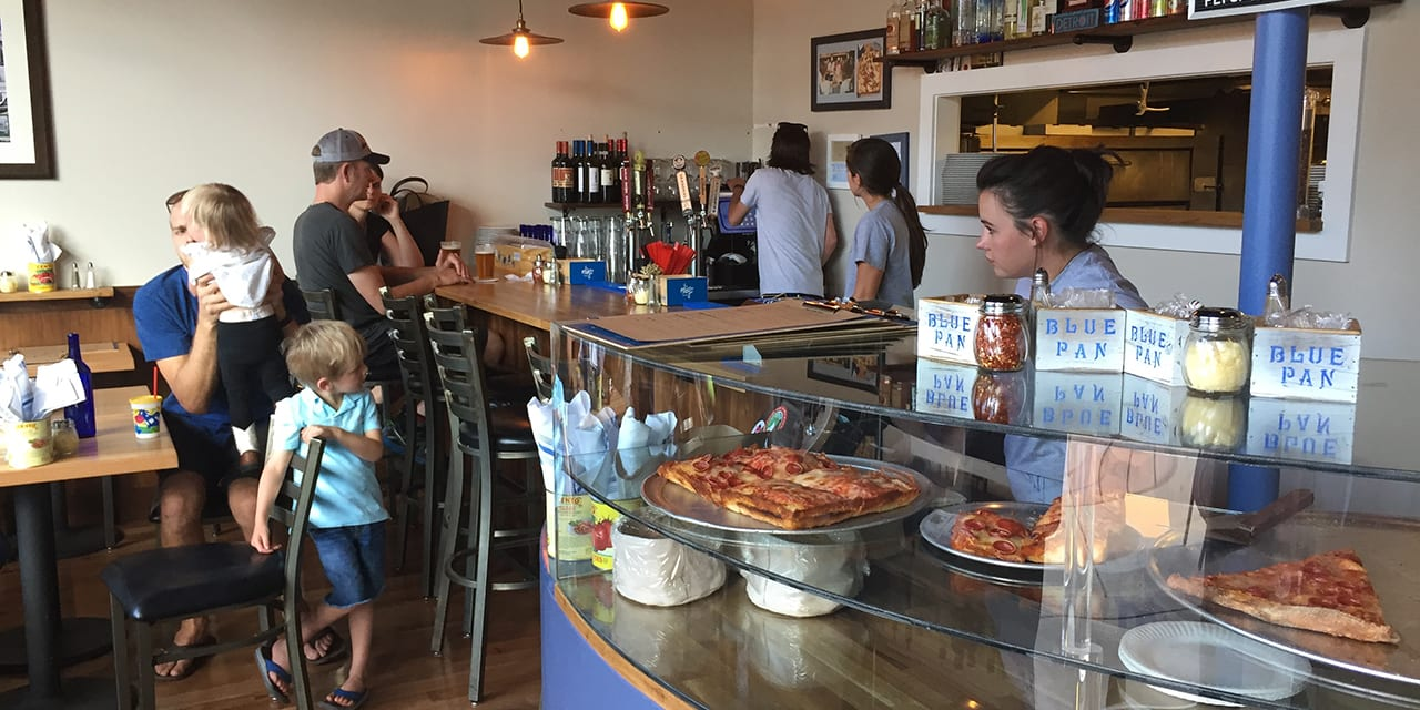 Blue Pan Pizza Bar