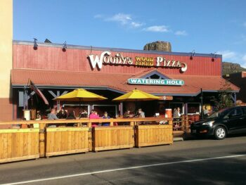 Woody's Wood Fired Pizza Golden