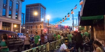 Saint Patrick's Day Event Lower Downtown Denver CO