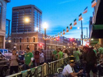 Saint Patrick's Day Event Lower Downtown Denver CO