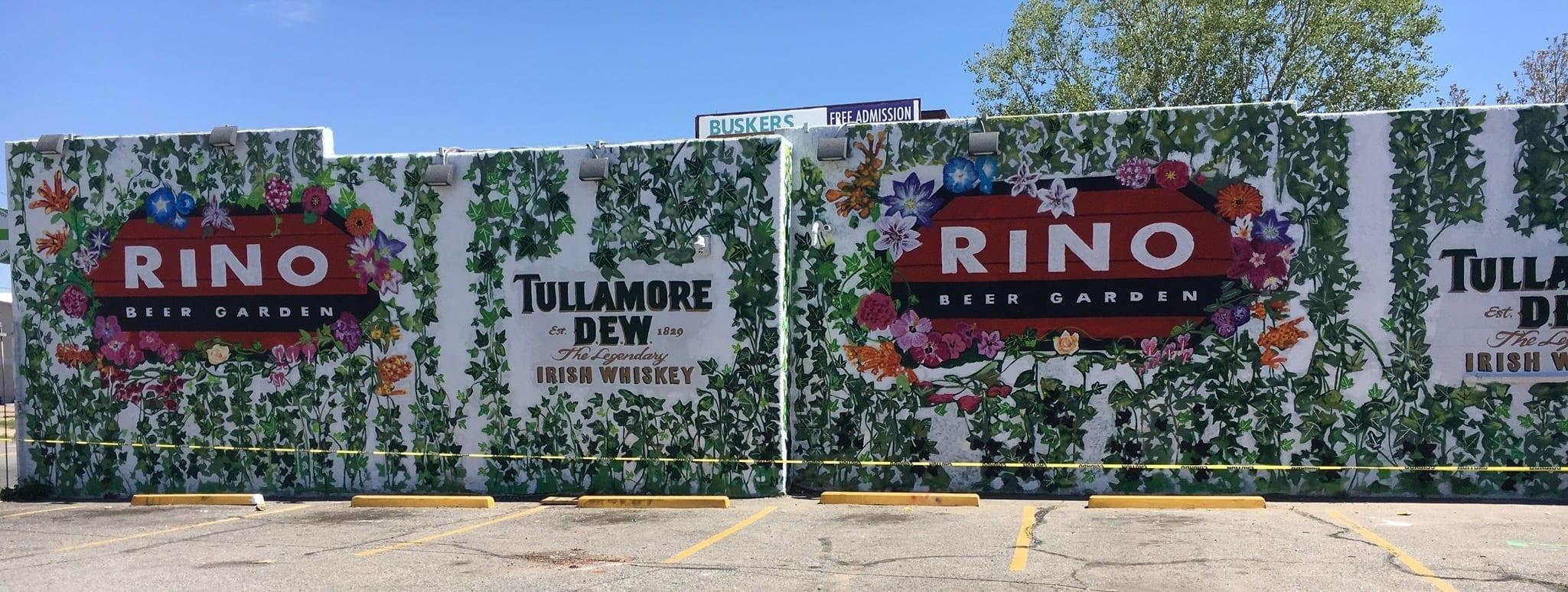 RiNo Beer Garden Denver CO