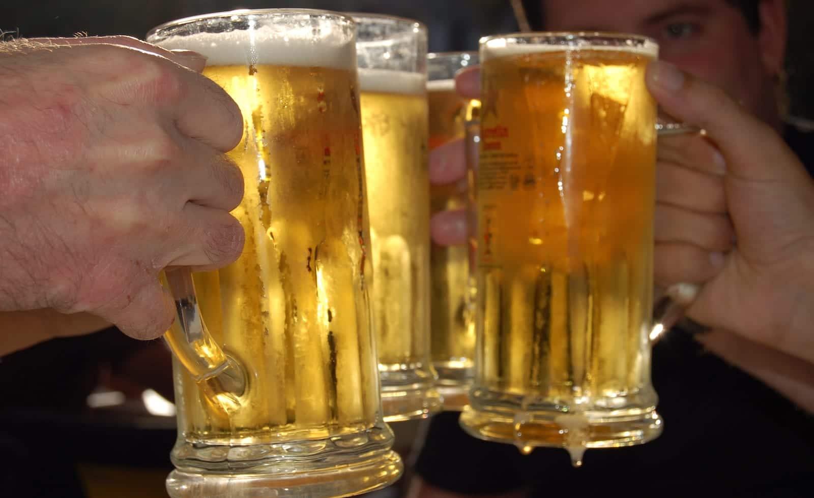 Beer Steins Cheers