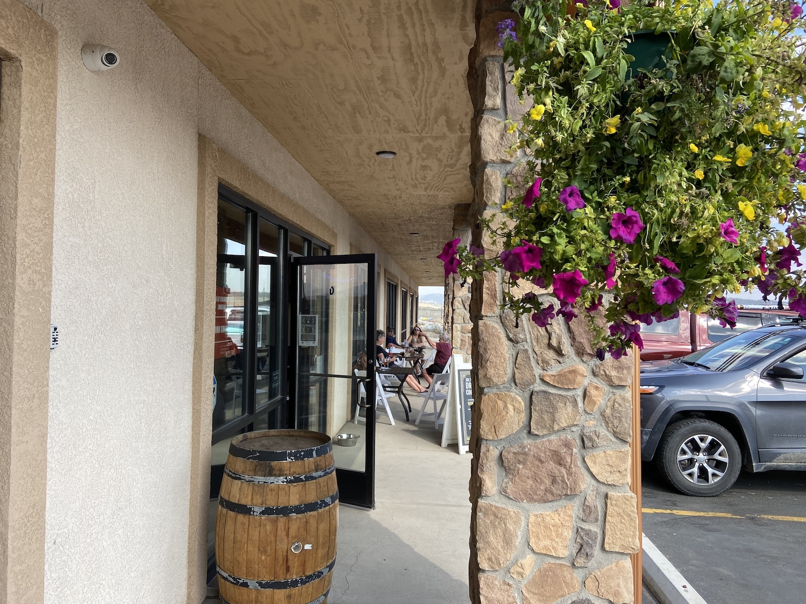 Continental Divide Winery Fairplay CO Patio