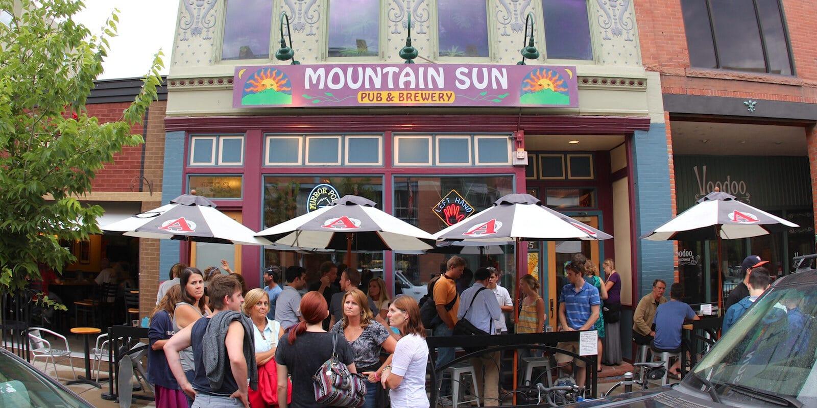Mountain Sun Pub Brewery Boulder CO