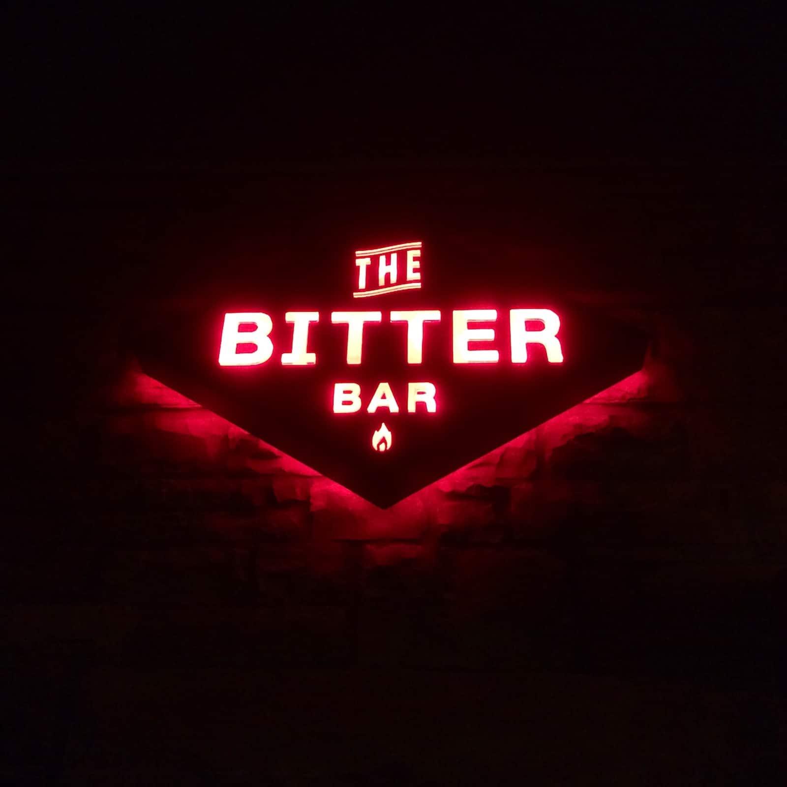 The Bitter Bar Sign Boulder CO