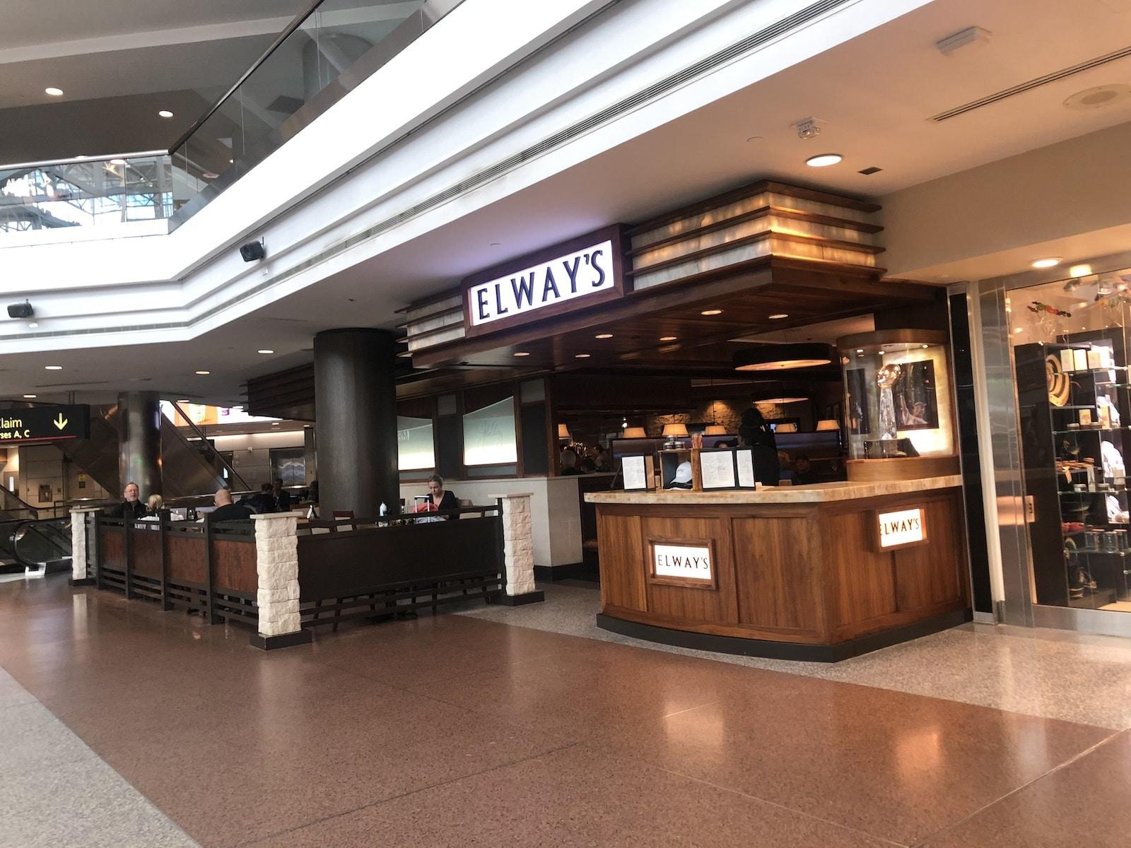 Elway's Steakhouse Denver Airport