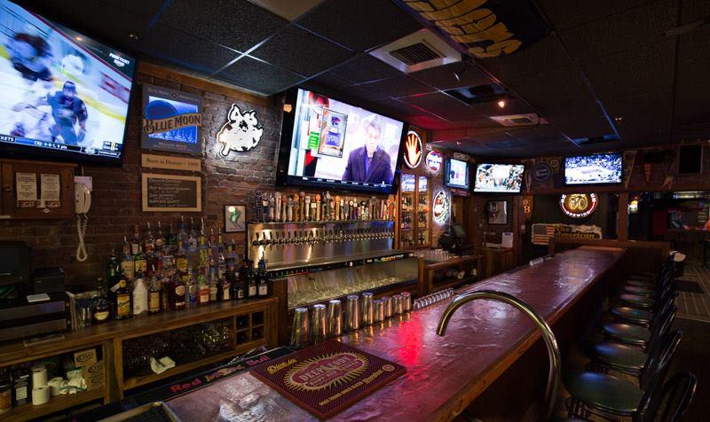 image of erics bar downstairs