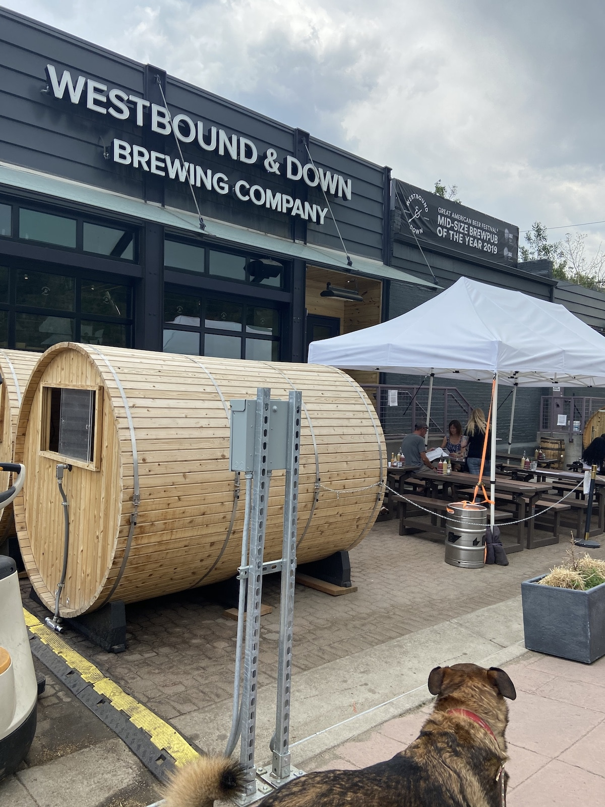 Westbound and Down Brewing Company Idaho Springs Back