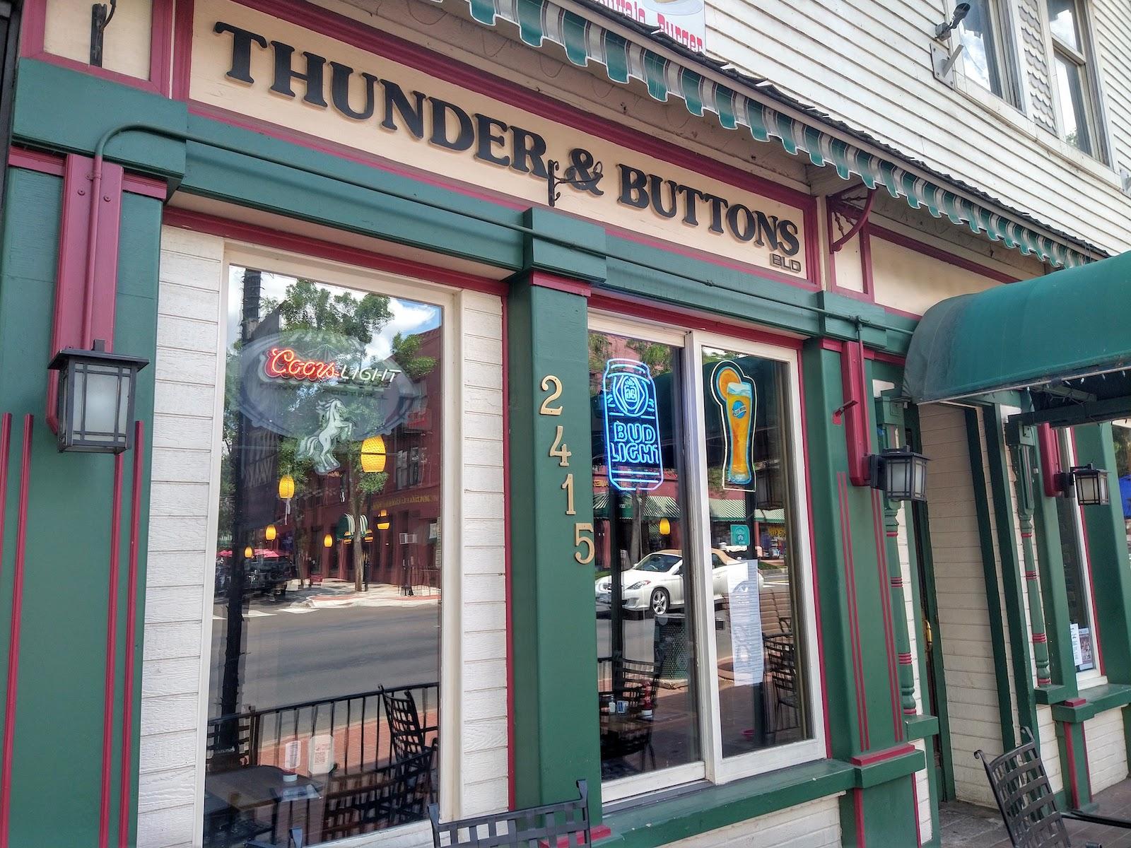 Thunder and Buttons Bar Colorado Springs