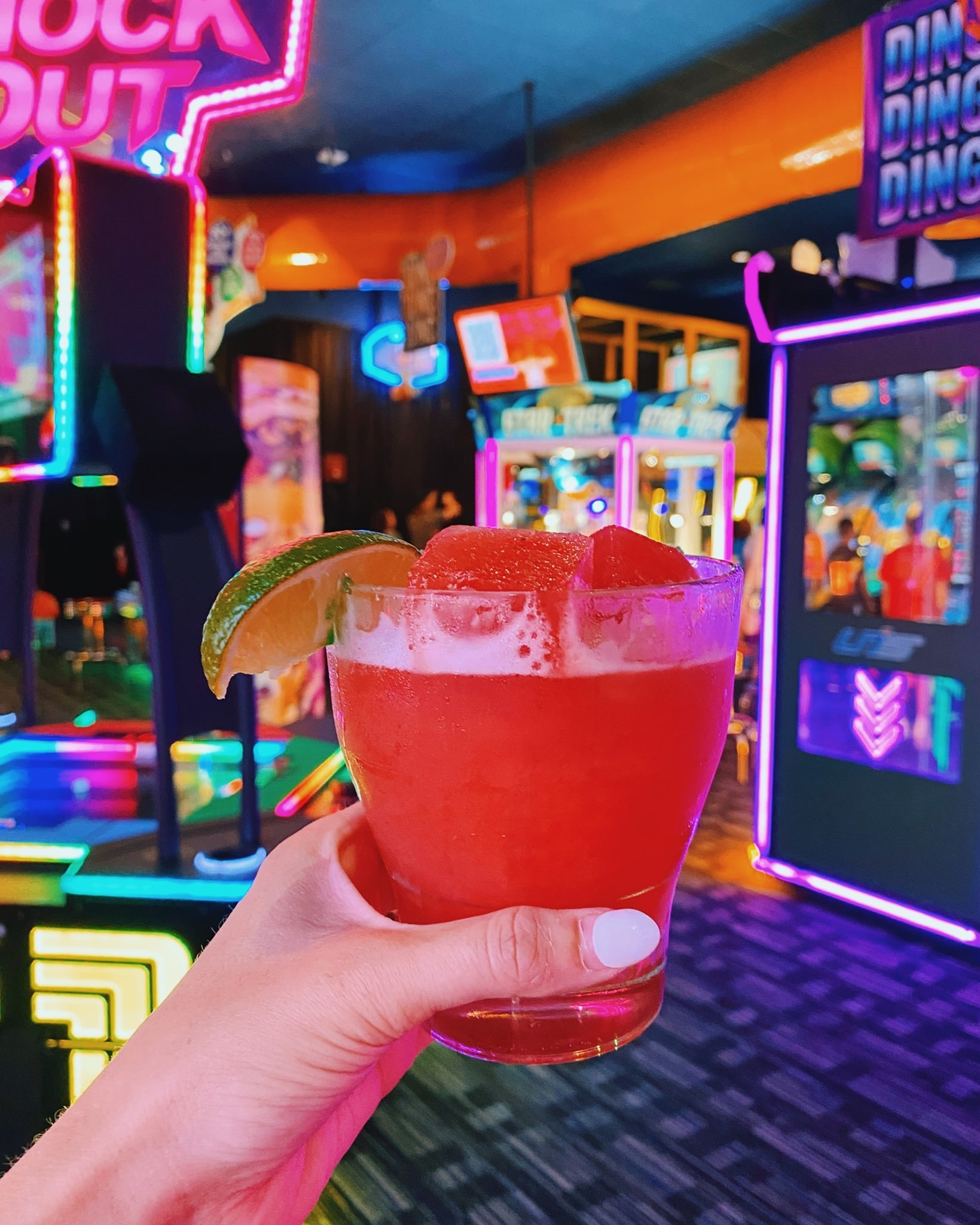 drink at dave and buster's denver