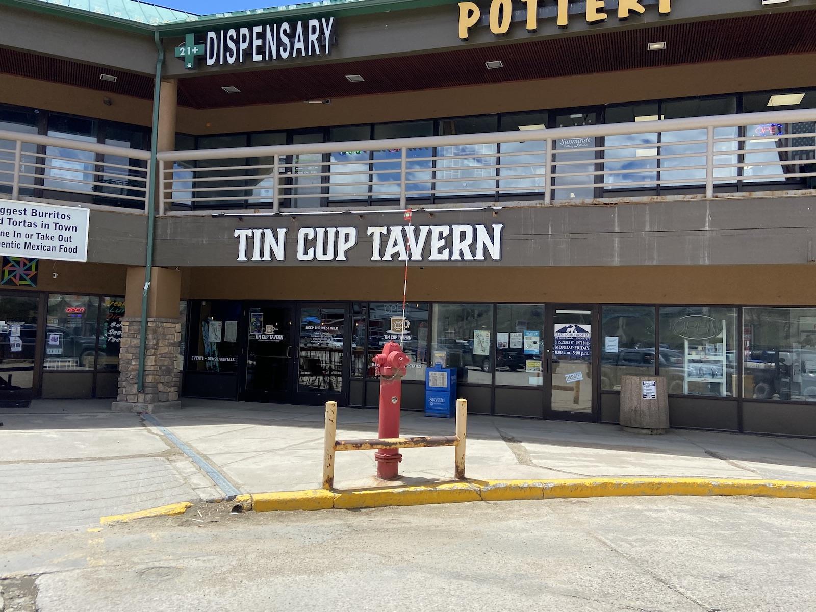 Tin Cup Tavern Fraser CO