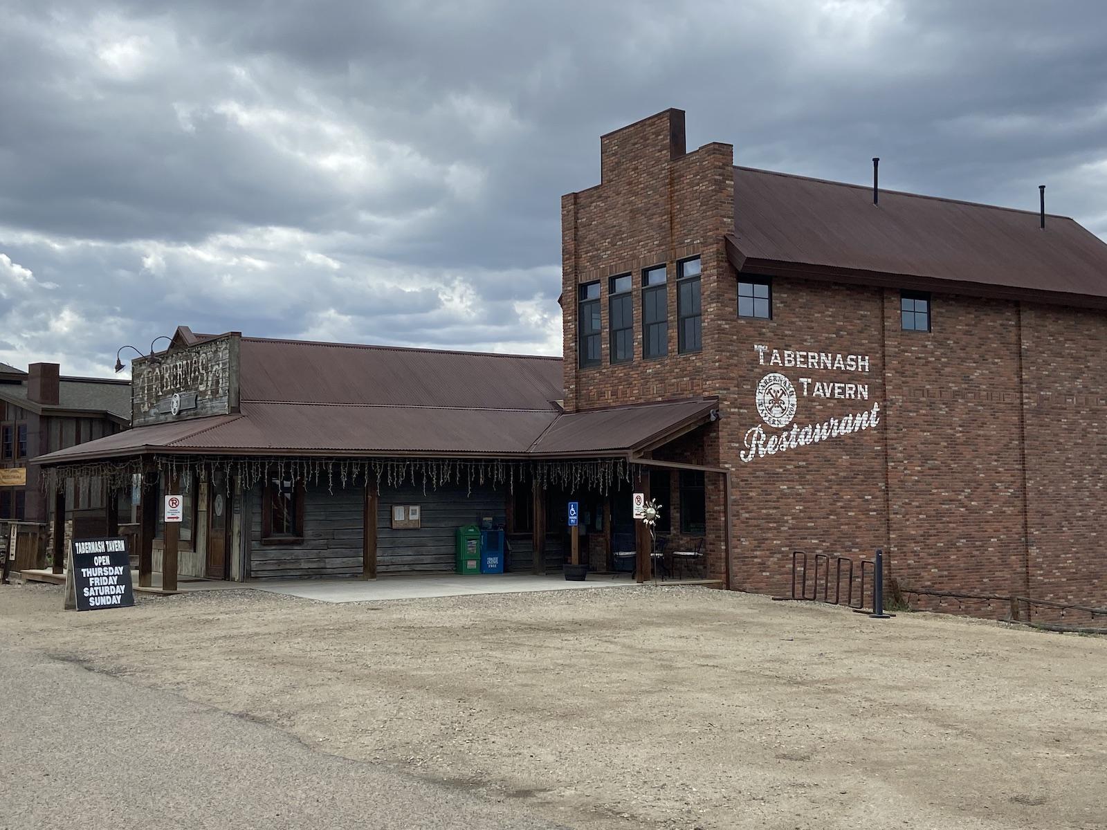 Tabernash Tavern Restaurant Colorado